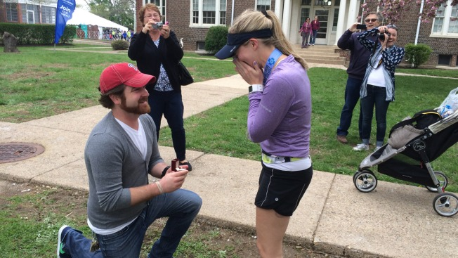 Broad Street Run Ends With Marriage Proposal