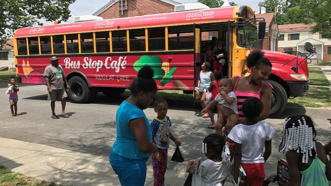 Bus Stop Cafe Feeds Kids in South Jersey