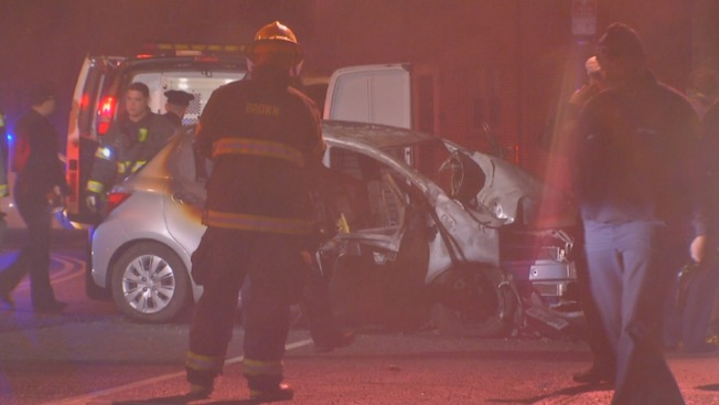 Driver Killed After Crash Leads to Car Fire