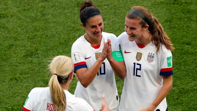 Carli Lloyd's Tiny Golf Clap After Scoring Delivers Big Message From US Women