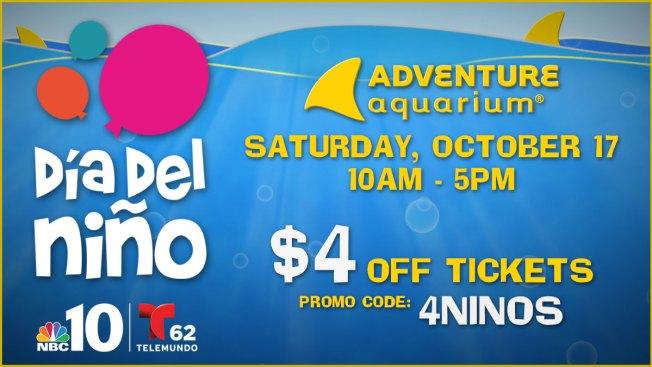 Celebrate Día del Niño! at Adventure Aquarium