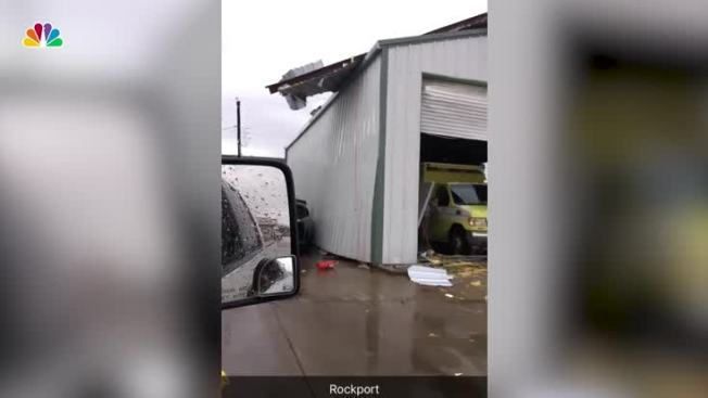Hurricane Harvey Slams Into Texas & Expert: Harvey Weakened Fast But Destruction Just Beginning - NBC ...