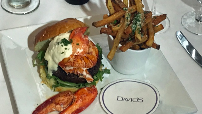 Philadelphia's Davio's Unleashes $50 Surf & Turf Burger & Beer Deal