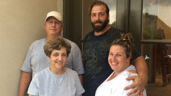 'We All Survived': Louisiana Family Works Night and Day to Recover From Devastating Flooding