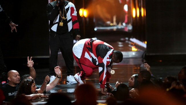 "Sean ""Diddy"" Combs' Nasty Fall Didn't Stop the BET Awards' Bad Boy Reunion"