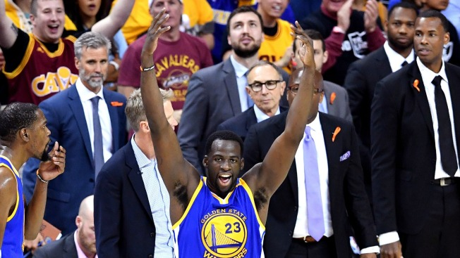 Warriors' Green Says Cavs Fans, Cleveland Not the 'Sharpest'
