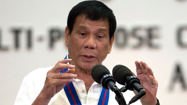 Duterte 'Happy to Slaughter' Drug Suspects, References Hitler