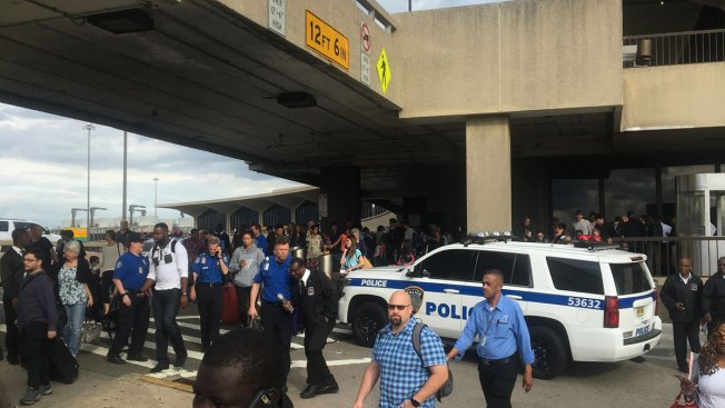 Newark Airport gives all clear after suspicious package forces evacuation