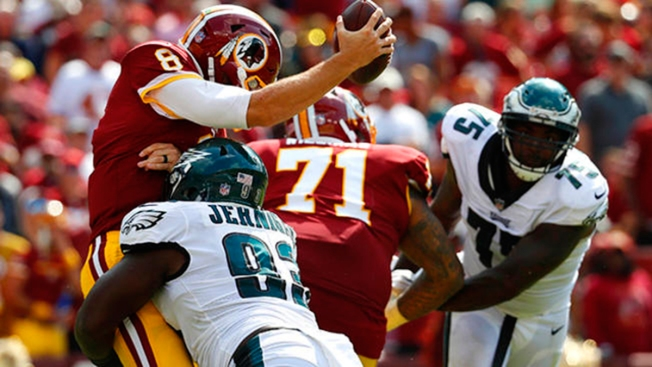 Eagles Beat Redskins 30 to 17 in Season Opener