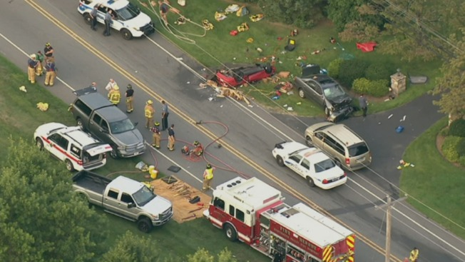 1 Killed, 2 Hurt in Montco Car Crash