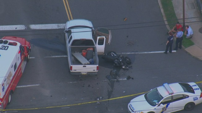 Man Killed After Motorcycle and Truck Collide