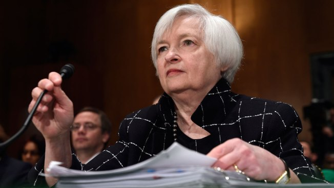 Fed Chair Yellen Signals Interest Rate Hike This Month   NBC 10 ...
