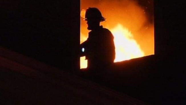 Firefighters Work 2-Alarm Fire
