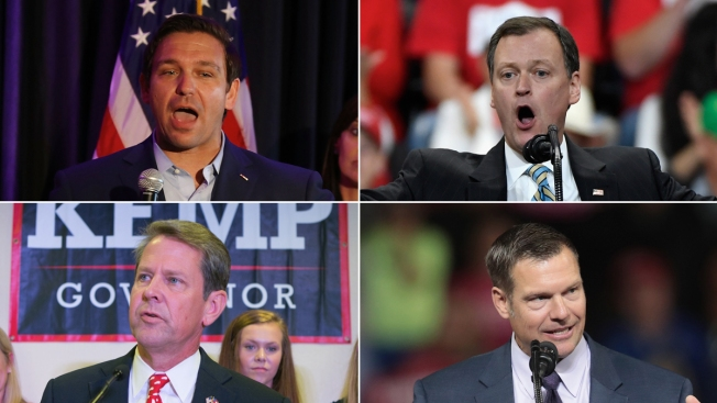 For Governor Candidates Propelled by Trump in Primary, General Election Looms