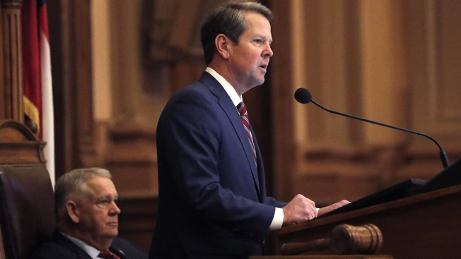 Georgia's Republican Gov. Kemp Signs Fetal Heartbeat Abortion Ban