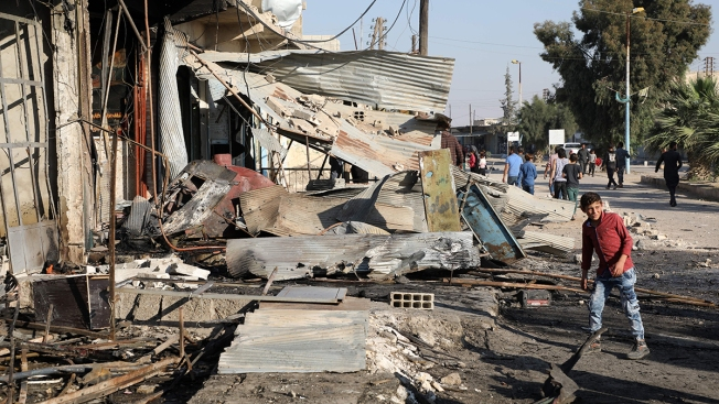 Car Bomb Kills at Least 12 in Syrian Town Held by Turkey