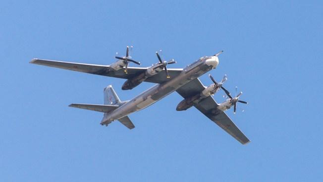 US Fighter Jets Intercept Russian Bombers Flying Near Alaska
