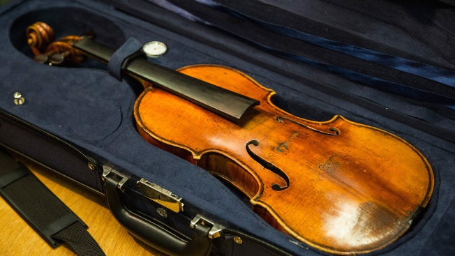 American Leaves $2.6M Stradivarius Violin on German Train