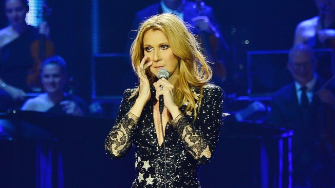 Emotional Celine Dion Honors Late Husband René Angélil During Las Vegas Return: 'I Know He Hears Me'