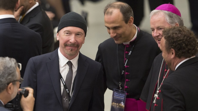 U2's The Edge Makes History as He Rocks the Sistine Chapel