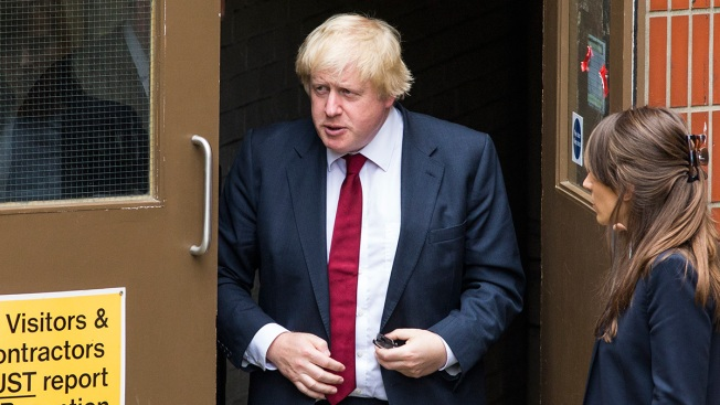 Boris Johnson denies leadership change plot