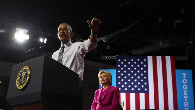 Obamas to Join Clintons for Final Hillary Event in Philly on Eve of Election