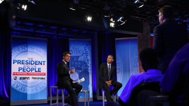 Texas Lieutenant Governor Confronts Obama Over Police Shootings