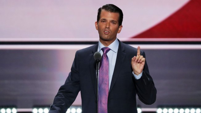 Donald Trump Jr. Jokes About 'Gas Chamber' in Radio Interview