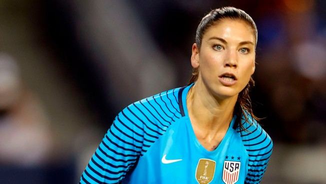 Hope Solo Suspended 6 Months for 'Cowards' Comment