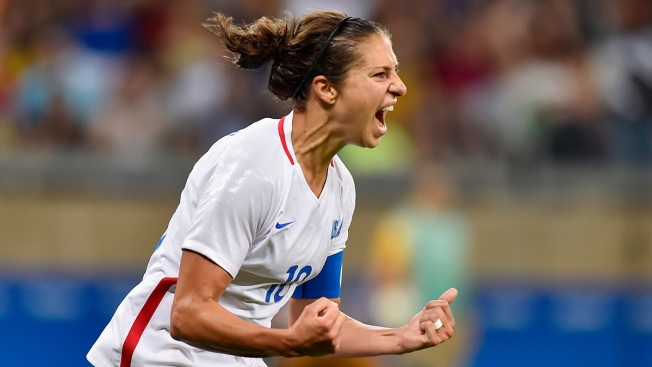 Soccer Star Carli Lloyd, Singer Wyclef Jean Headline New Jersey Hall of Fame Inductees