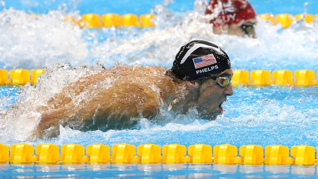 Phelps Wins Gold In Final —He Says — Olympic Race
