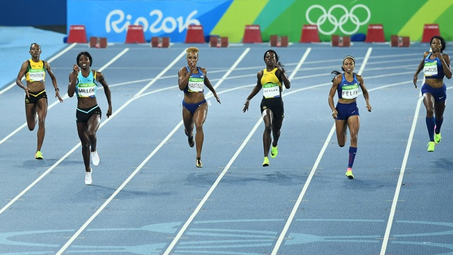 Day 10: Georgia's Shaunae Miller Takes Gold in 400; Oregon's Phyllis Francis 5th