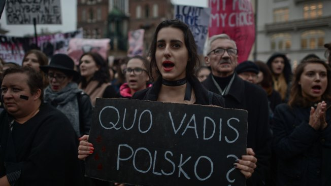 Polish PM Distances Government From Abortion Ban