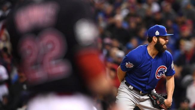 Kyle Schwarber on Cubs' World Series roster