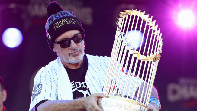 Cubs' Maddon Helps Break Ground on Playground in Hometown