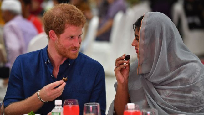 Prince Harry starts visit in Singapore