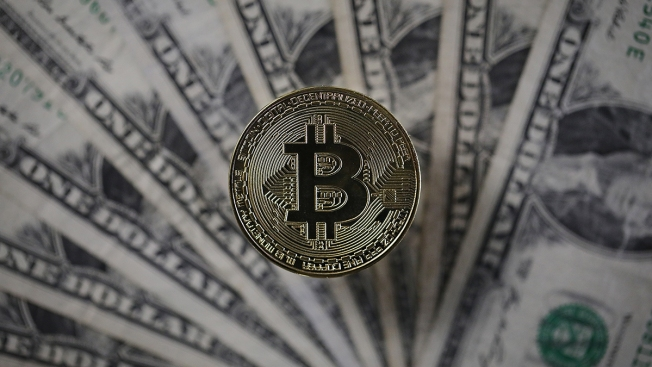 Bitcoin slumps down nearly  half its peak value
