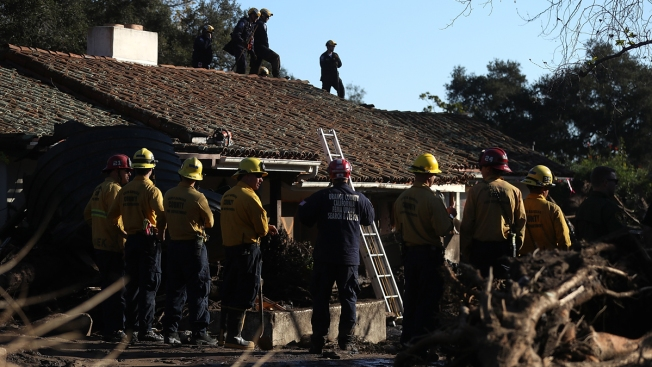 California mudslide response turns from rescue to recovery