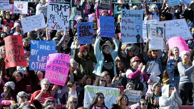 Anti-Semitism Concerns Leave Women's Marches Scrambling for Messages of Unity