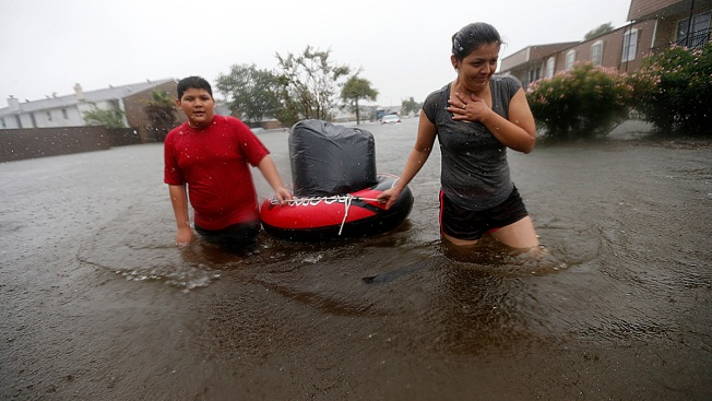 Public Health Dangers Loom in Harvey-Hit Areas
