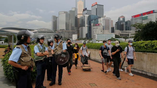 Hong Kong Legislative Work Suspended Amid Political Crisis