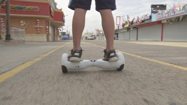 Wildwood Weighs Banning Hoverboards on Iconic Jersey Shore Boardwalk