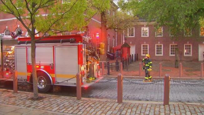 Smoke Found in Basement of Independence Hall