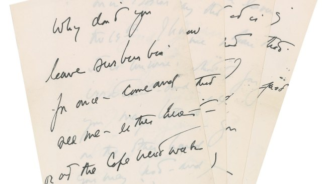 Letter From JFK to Purported Lover to Be Auctioned Off