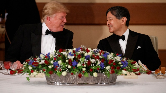 Trump in Japan: Pomp and Tense Circumstance