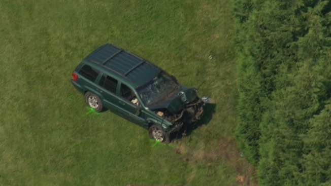 2 Dead After Jeep Crashes Into Lawn Mower