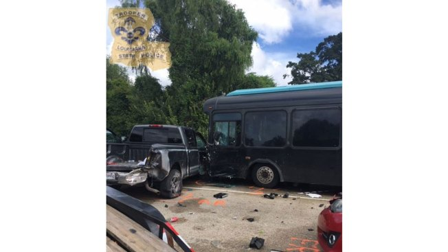 Driver in Fatal Louisiana Flood Relief Bus Crash to be Charged: Police