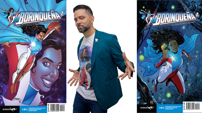 Hurricane-Fighting Puerto Rican Superhero 'La Borinqueña' Soars Into Philly