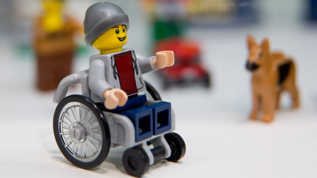 Lego Unveils Its First Figure in a Wheelchair