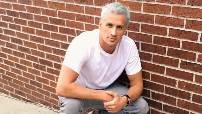 Ryan Lochte Hair Turns Green From Chlorine Following Rio Dye Job